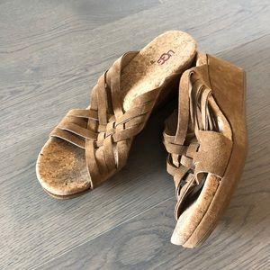 Shoes - UGG Wedge Sandal size 10